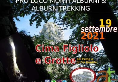 19 settembre Cima Figliolo, grotta di Frà Gentile